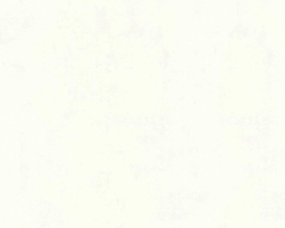 A.S. Création papier peint Béton, blanc 224040