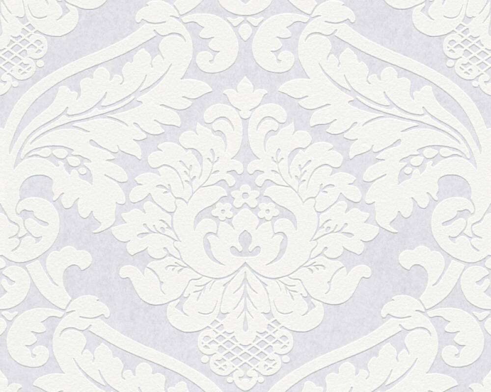 Peindre Papier Peint Motif a.s. création papier peint «baroque, blanc, à peindre» 243713