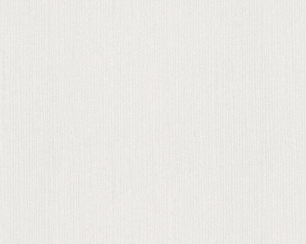 A.S. Création Wallpaper Uni, Grey, White 254818