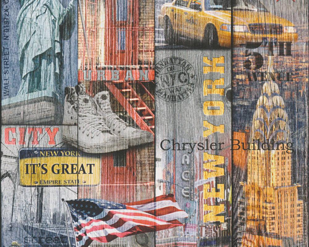 AS Creation Tapete  30170-1 USA New York Manhattan Papiertapete