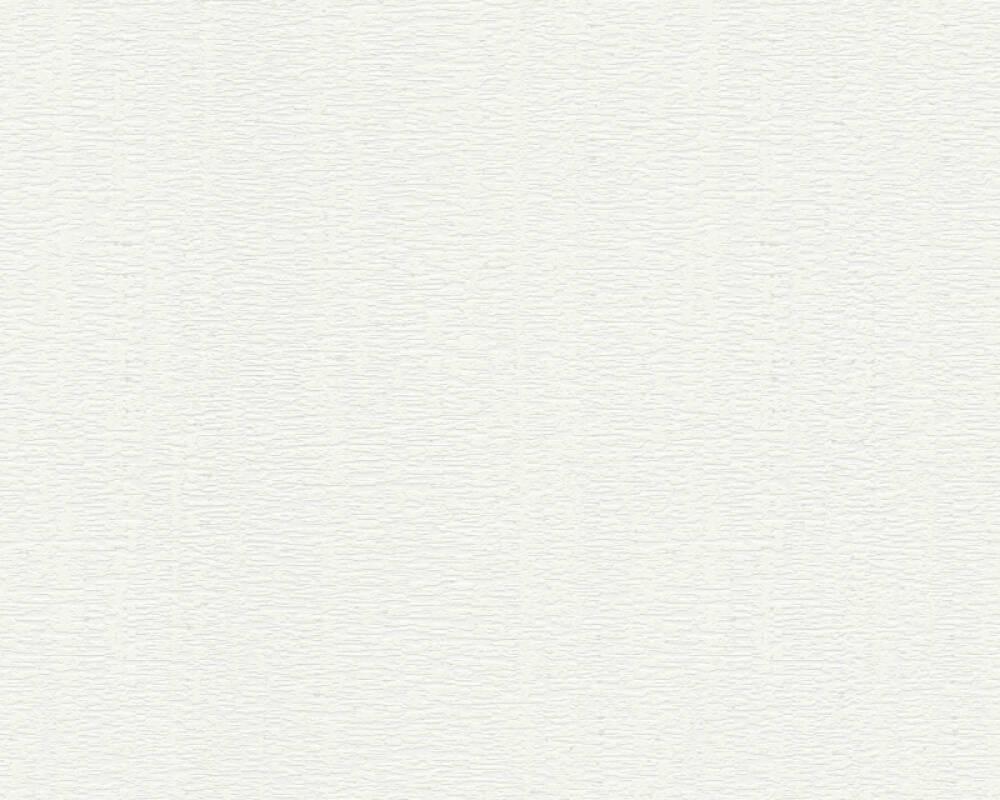 A.S. Création Wallpaper Uni, White 302382