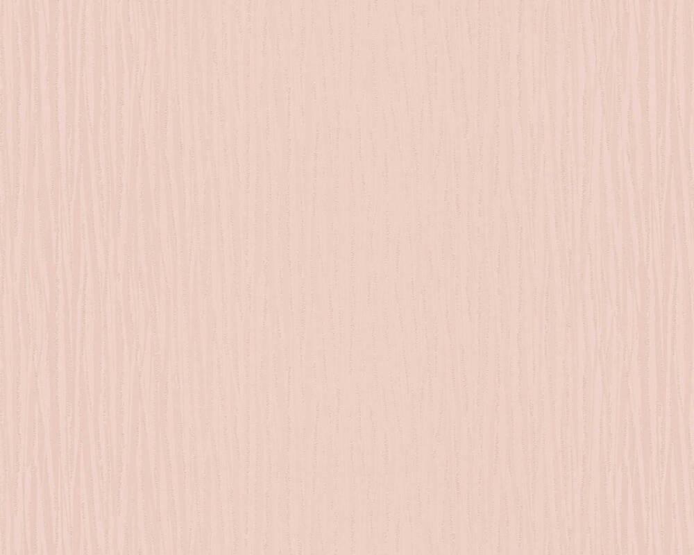 Architects Paper Wallpaper Uni, Metallic, Pink 304303