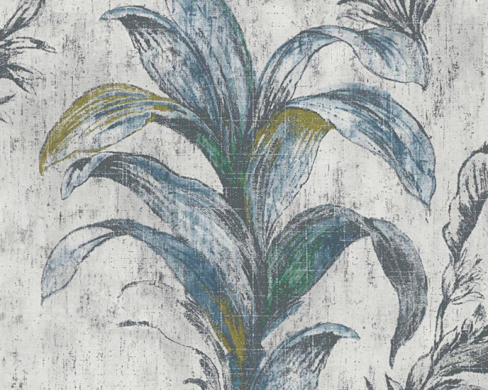 MICHALSKY LIVING Обои Флора, Бежевые, Зеленые, Серыe 304561