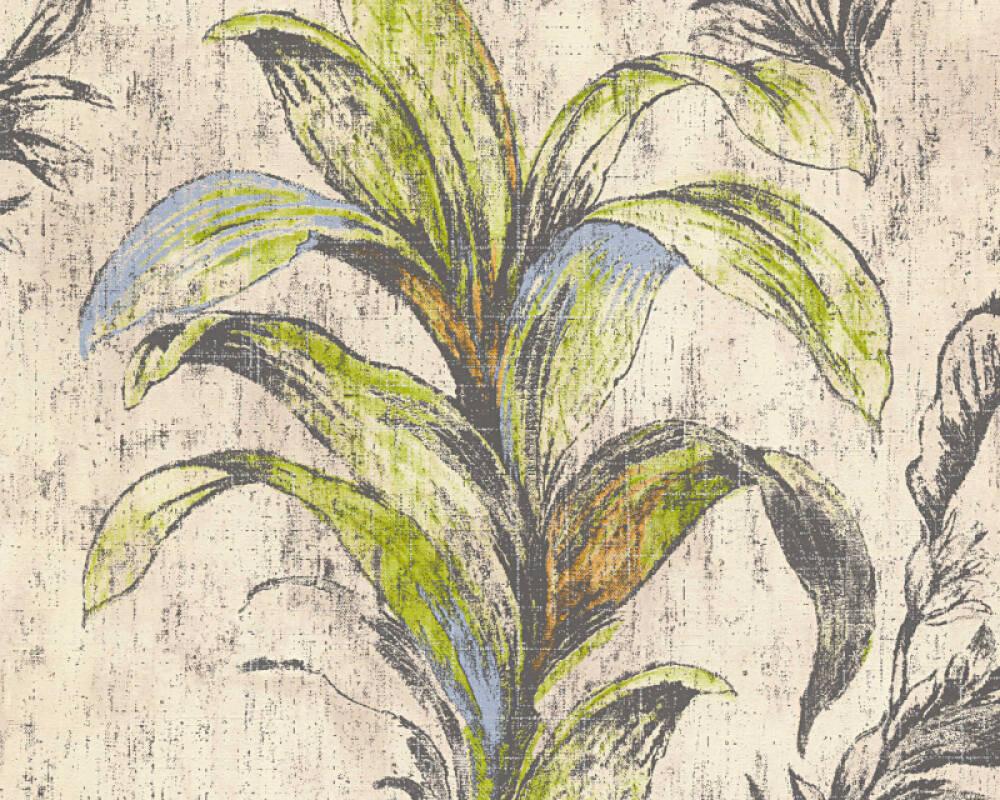 MICHALSKY LIVING Обои Флора, Бежевые, Зеленые, Коричневыe 304564