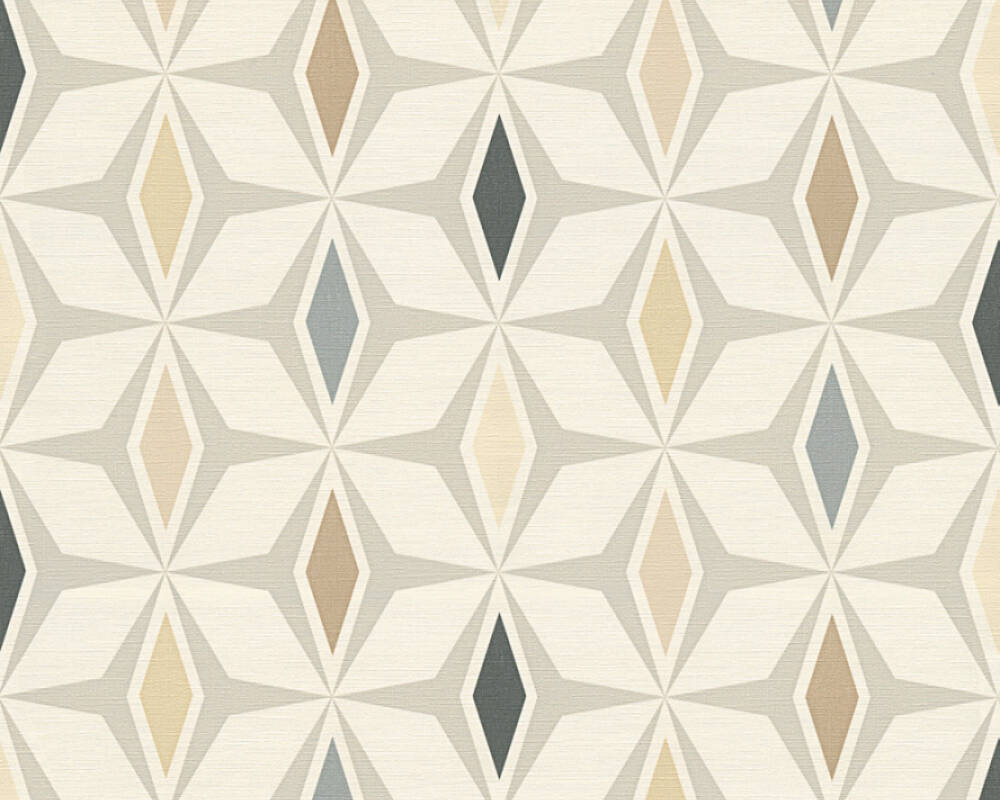 A.S. Création Tapete Grafik, Braun, Grau, Weiß 304763