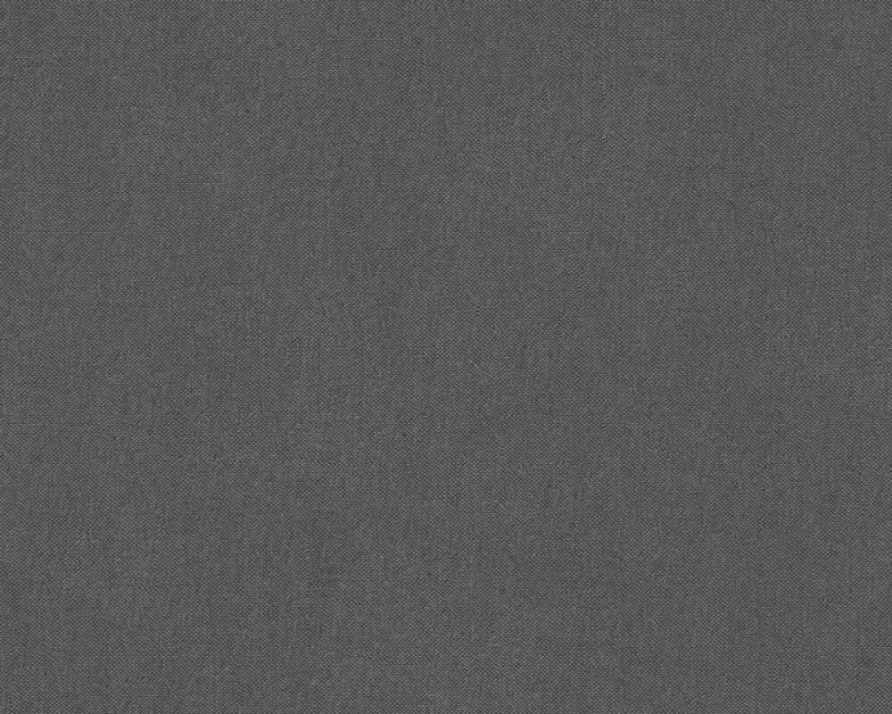 A.S. Création Wallpaper Uni, Black 304871