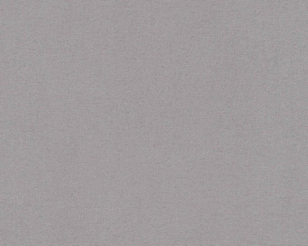 A.S. Création papier peint Uni, gris, noir 304875