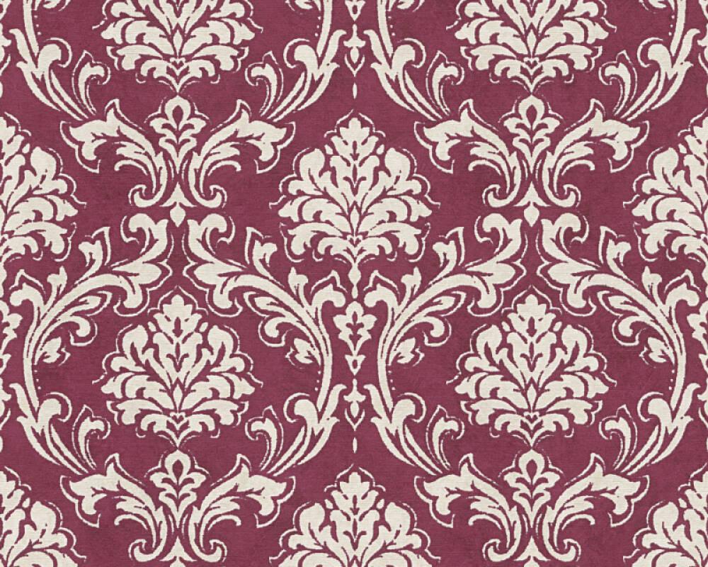 Chambre Baroque Noir Et Violet a.s. création papier peint «baroque, crème, métallique