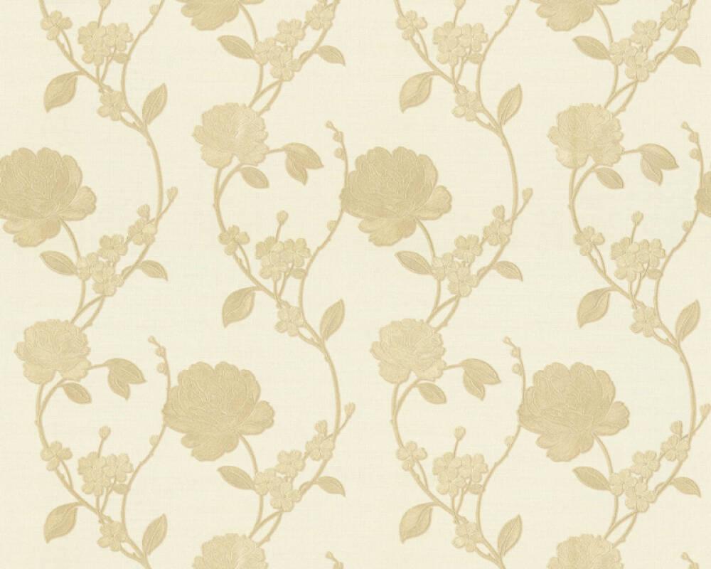 ORIGINALS papier peint Floral, beige, crème 305381