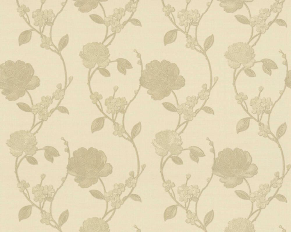 ORIGINALS papier peint Floral, jaune, métallique, or 305382