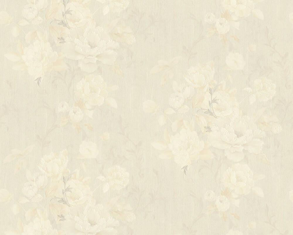 ORIGINALS papier peint Floral, beige, crème 305651
