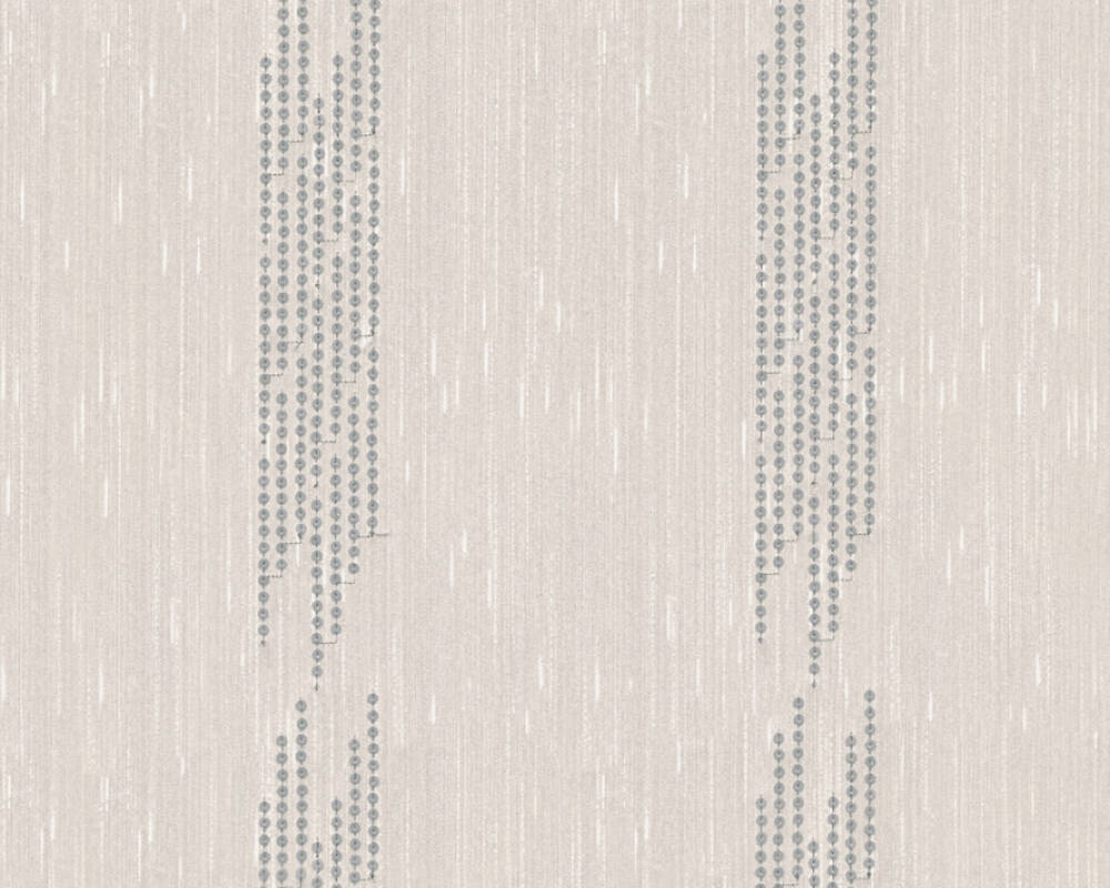 Architects Paper Design panel Baroque, Cream, Metallic, Silver 306072