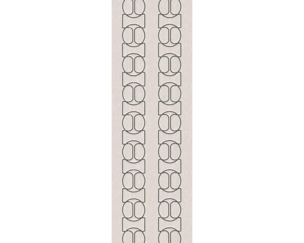 Architects Paper panneau Baroque, argent, crème, métallique 306132