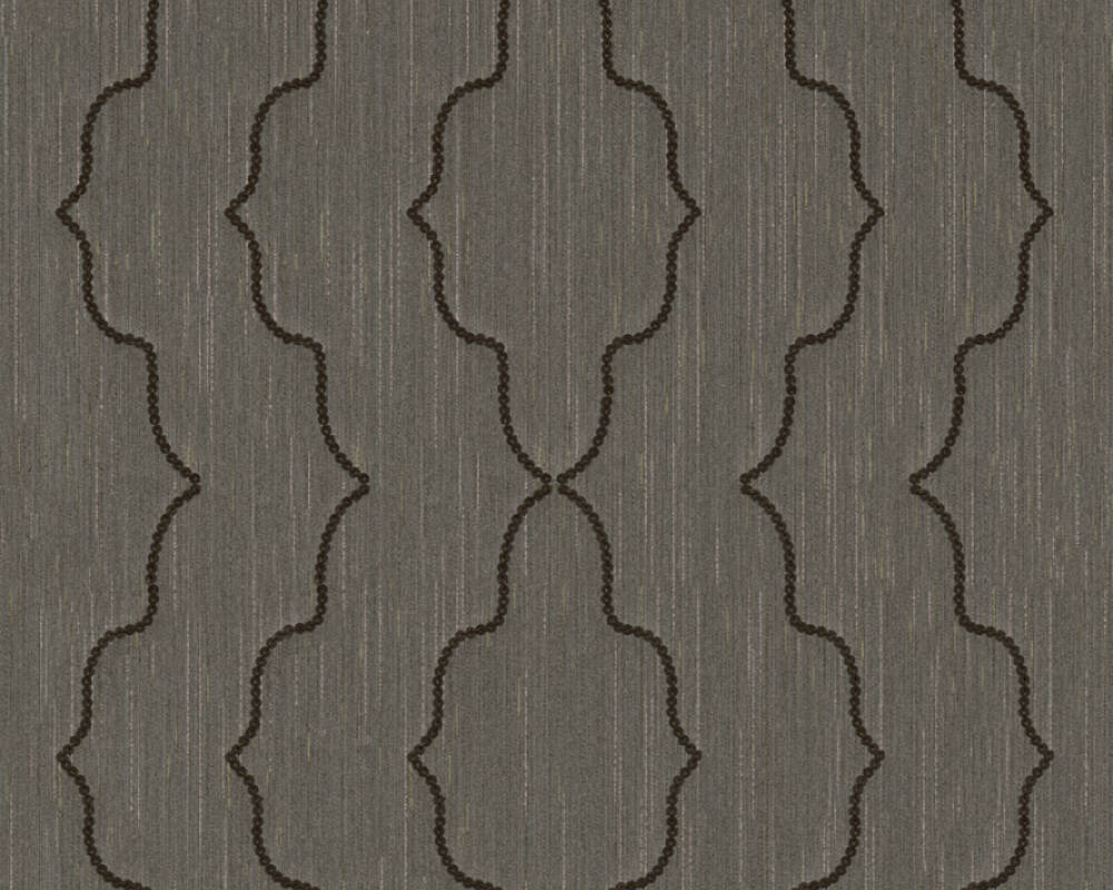 Architects Paper Design panel Baroque, Brown, Metallic 306155