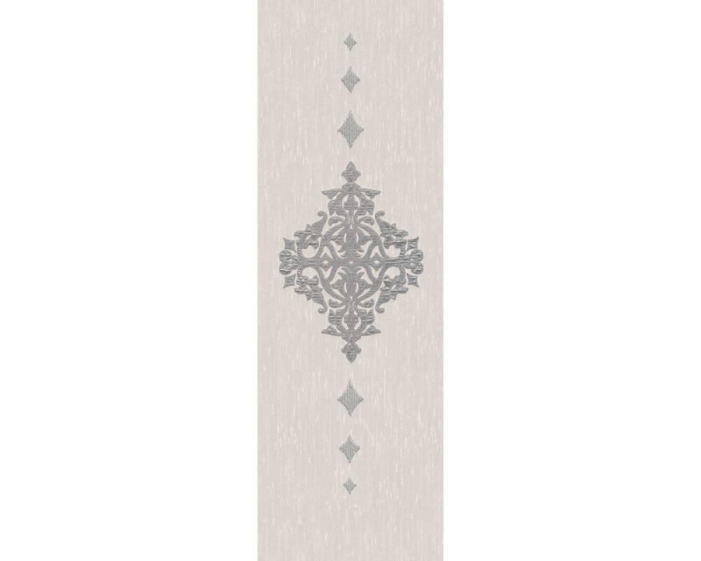 Architects Paper Design panel Baroque, Cream, Metallic, Silver 306173
