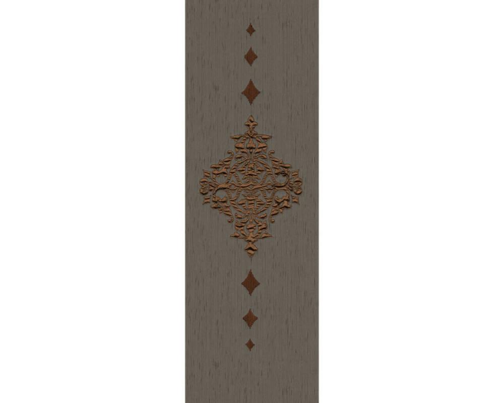 Architects Paper Design panel Baroque, Brown, Copper, Metallic 306175