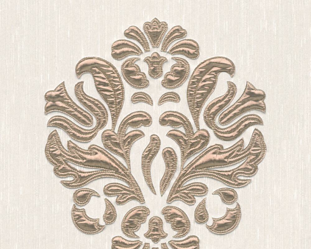 Architects Paper Design panel Baroque, Cream, Metallic 306343