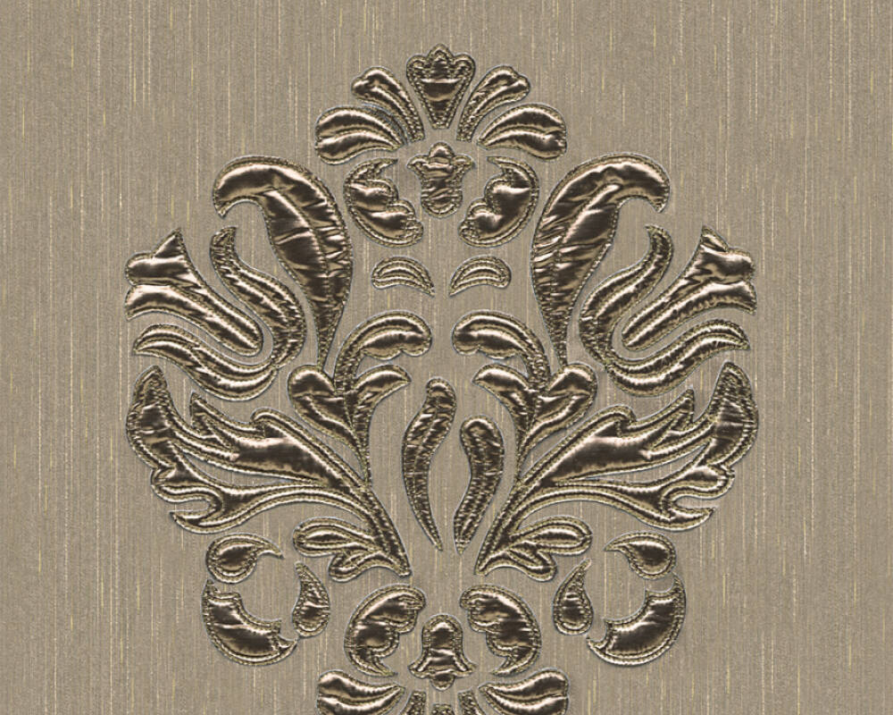 Architects Paper Design panel Baroque, Cream, Metallic 306344
