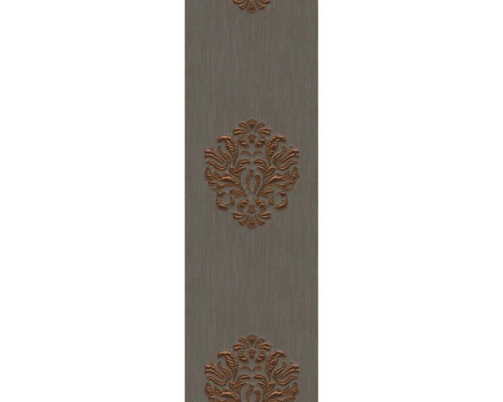 Architects Paper Design panel Baroque, Brown, Copper, Metallic 306345