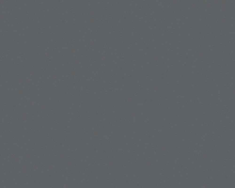 Livingwalls papier peint Uni, gris, noir 309549