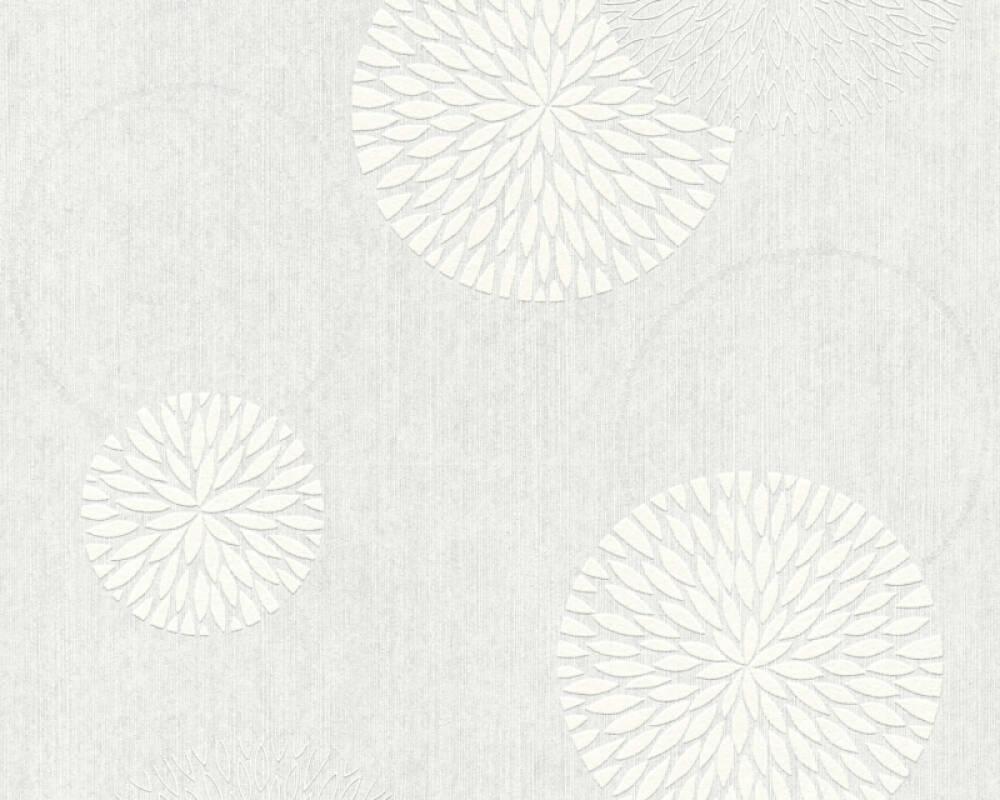 Papier A Peindre Motif a.s. création papier peint «fleurs, blanc, à peindre» 321301