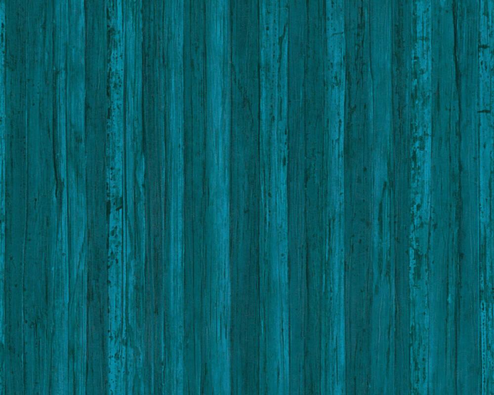 A.S. Création Wallpaper Uni, Blue 327145