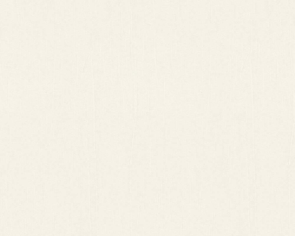 A.S. Création Wallpaper Uni, White 327215