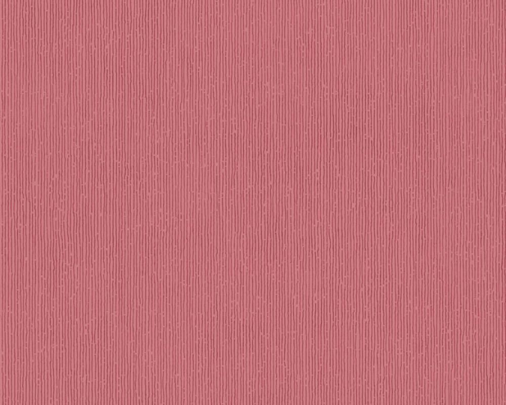 Modern, Streifen Papiertapete - Urban Flowers - 328051 32805-1 - Metallics, Rot