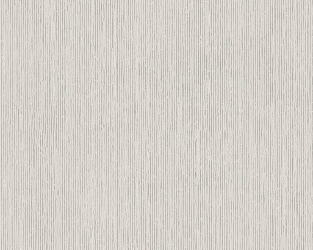 Modern, Streifen Papiertapete - Urban Flowers - 328054 32805-4 - Beige, Grau