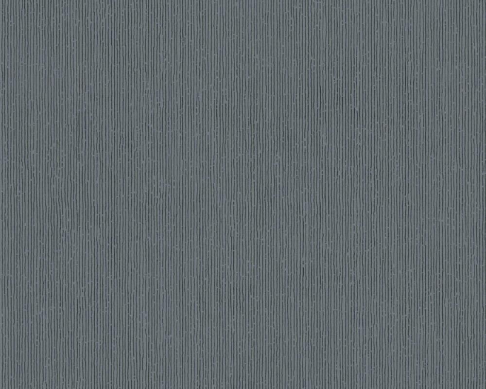 Modern, Streifen Papiertapete - Urban Flowers - 328055 32805-5 - Grau, Metallics