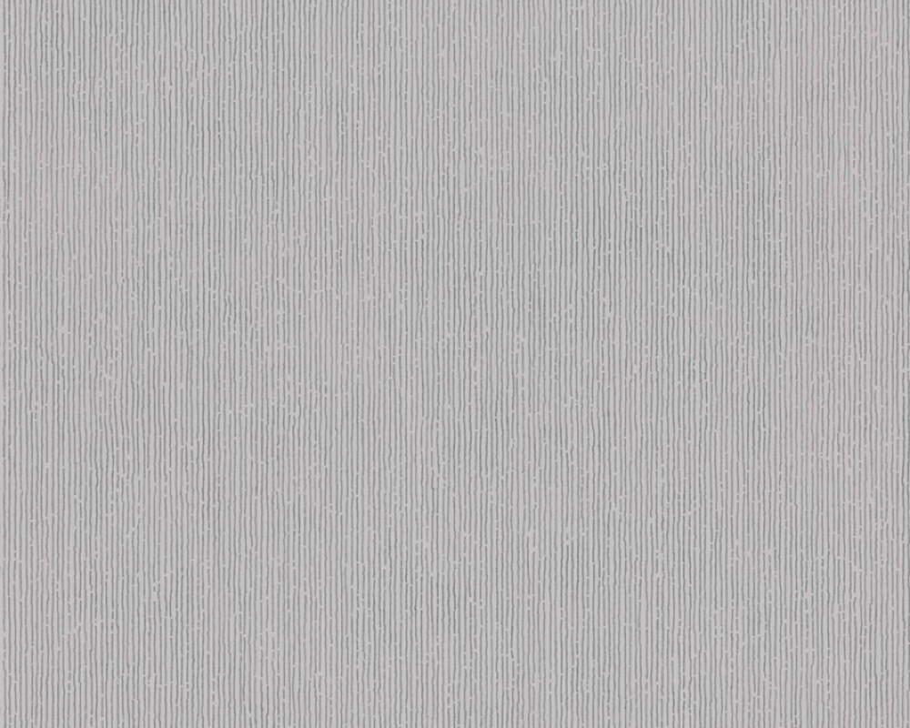 Modern, Streifen Papiertapete - Urban Flowers - 328056 32805-6 - Grau, Metallics