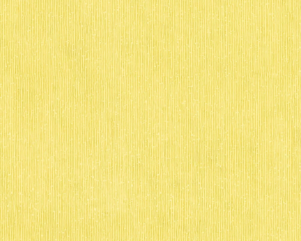 Modern, Streifen Papiertapete - Urban Flowers - 328058 32805-8 - Gelb, Metallics