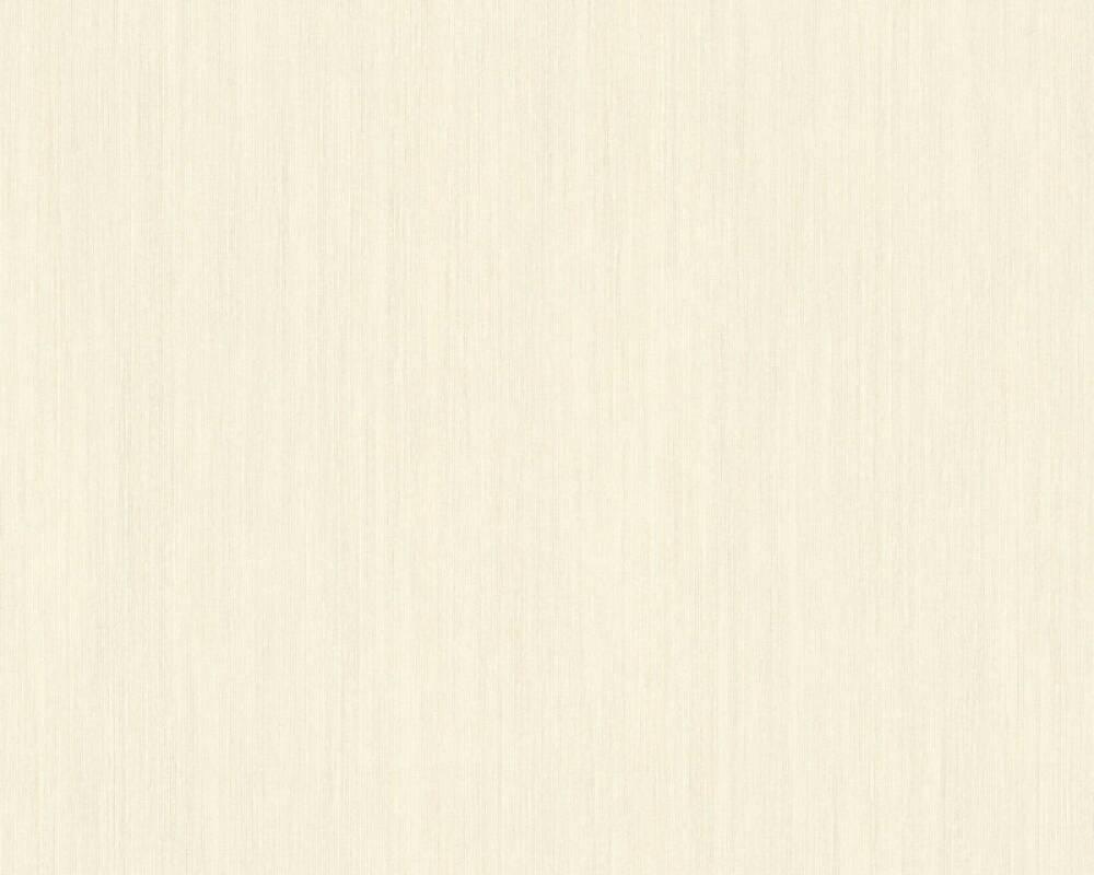 A.S. Création papier peint Uni, blanc, gris 328827