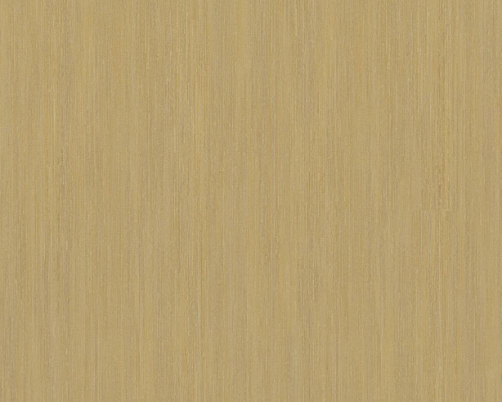 A.S. Création papier peint Uni, jaune, marron, métallique, or 328829