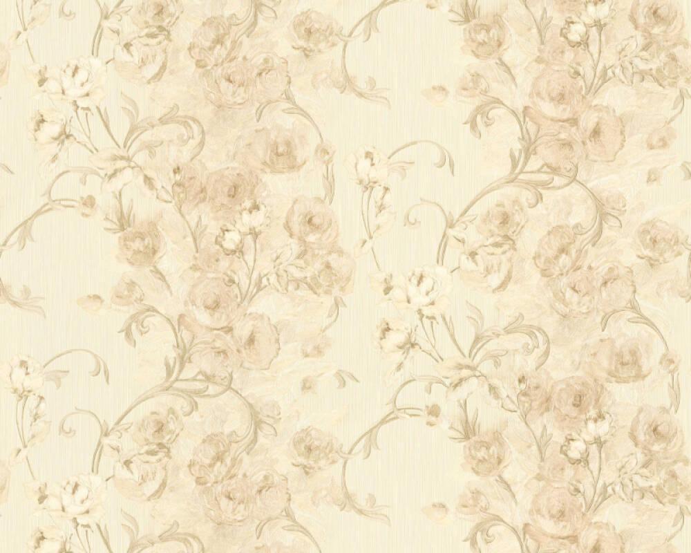 ORIGINALS Wallpaper Cottage, Floral, Beige, Cream, Gold, Metallic 329954