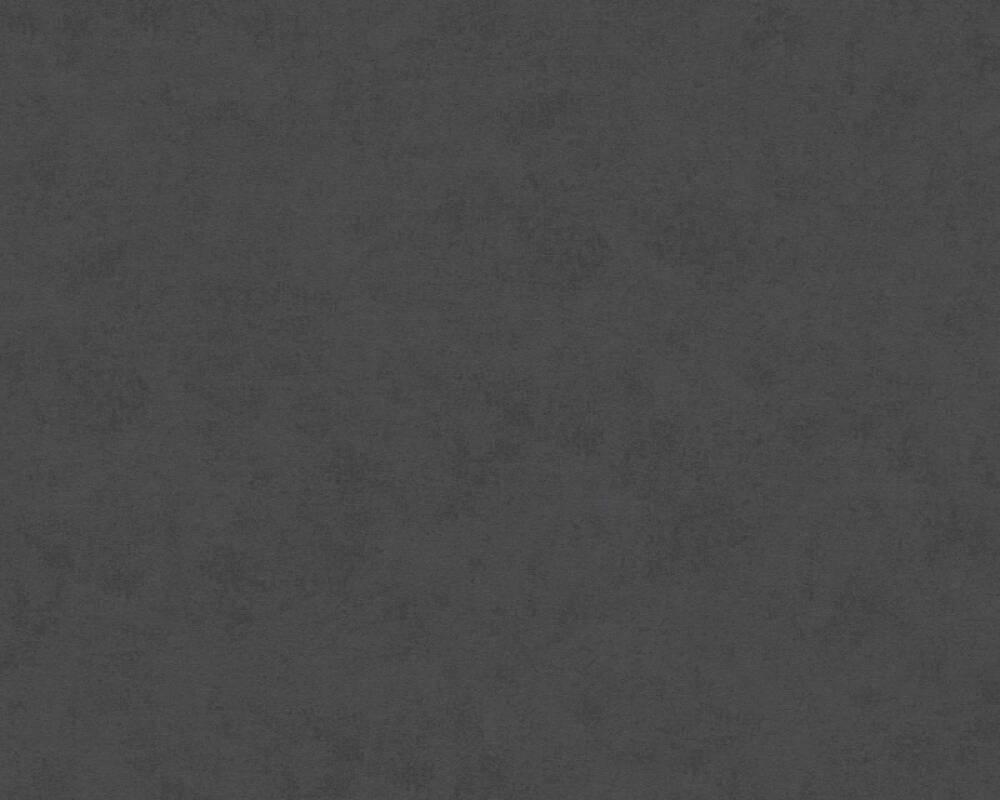 A.S. Création papier peint Uni, noir 332035