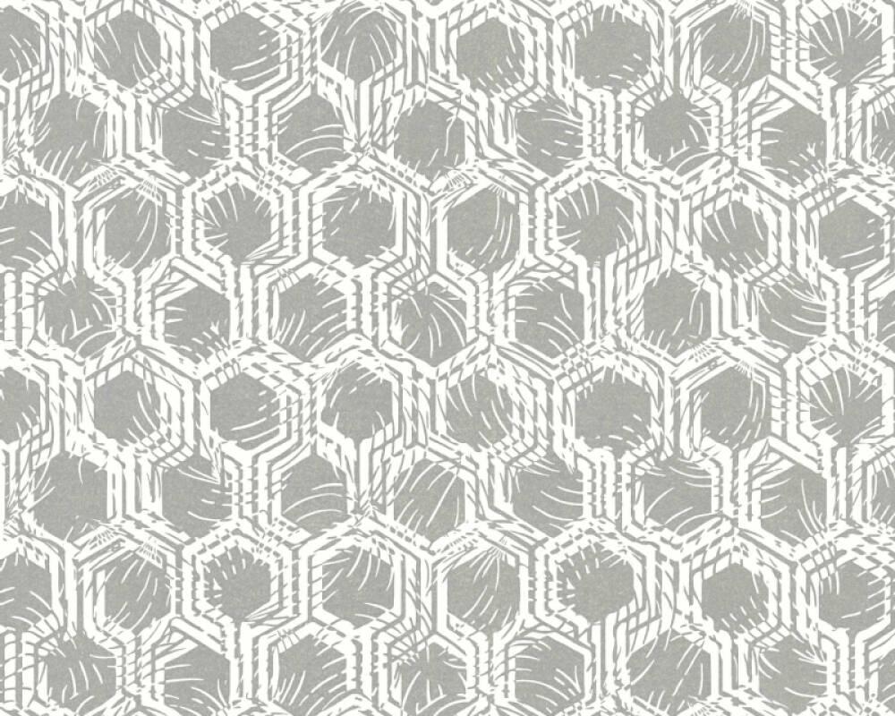 Architects Paper Wallpaper Graphics, Metallic, White 333271
