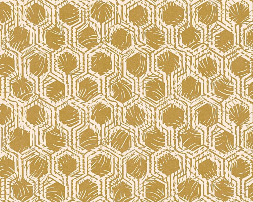 Architects Paper Wallpaper Graphics, Beige, Metallic 333273