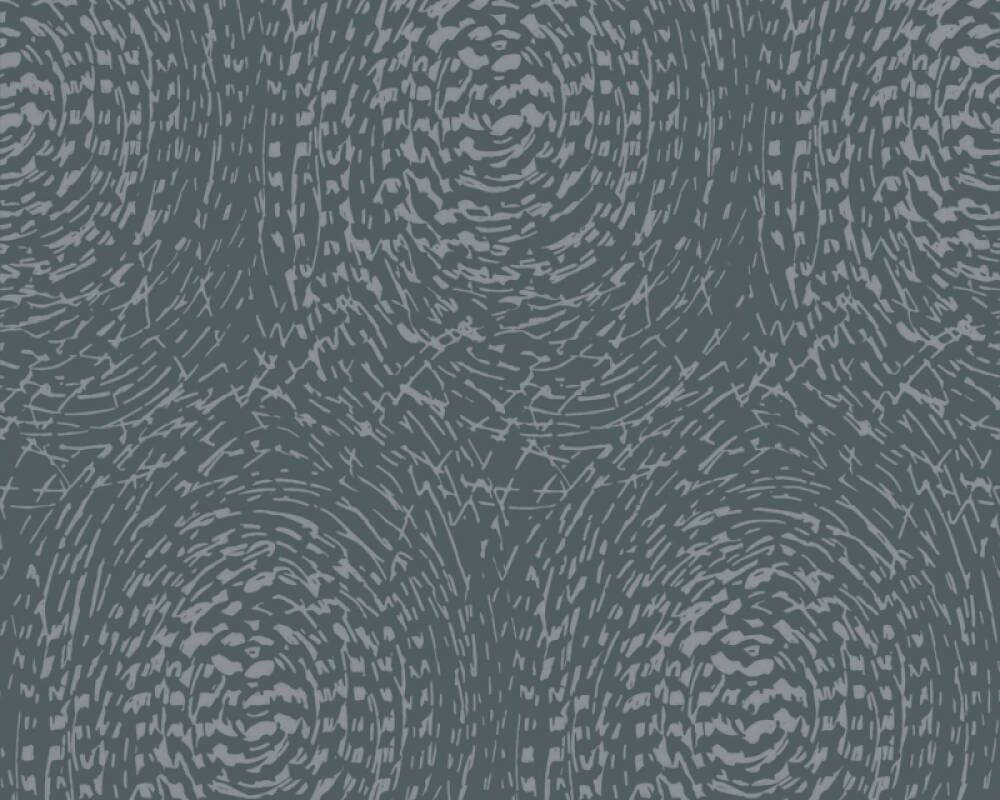 Architects Paper Wallpaper Graphics, Blue, Metallic 333731