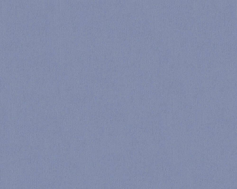 A.S. Création papier peint Uni, bleu 336583
