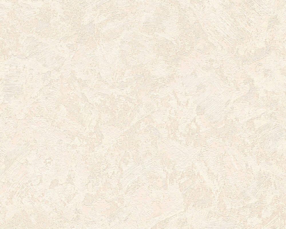 A.S. Création Wallpaper Uni, Beige, Cream, Metallic 338633