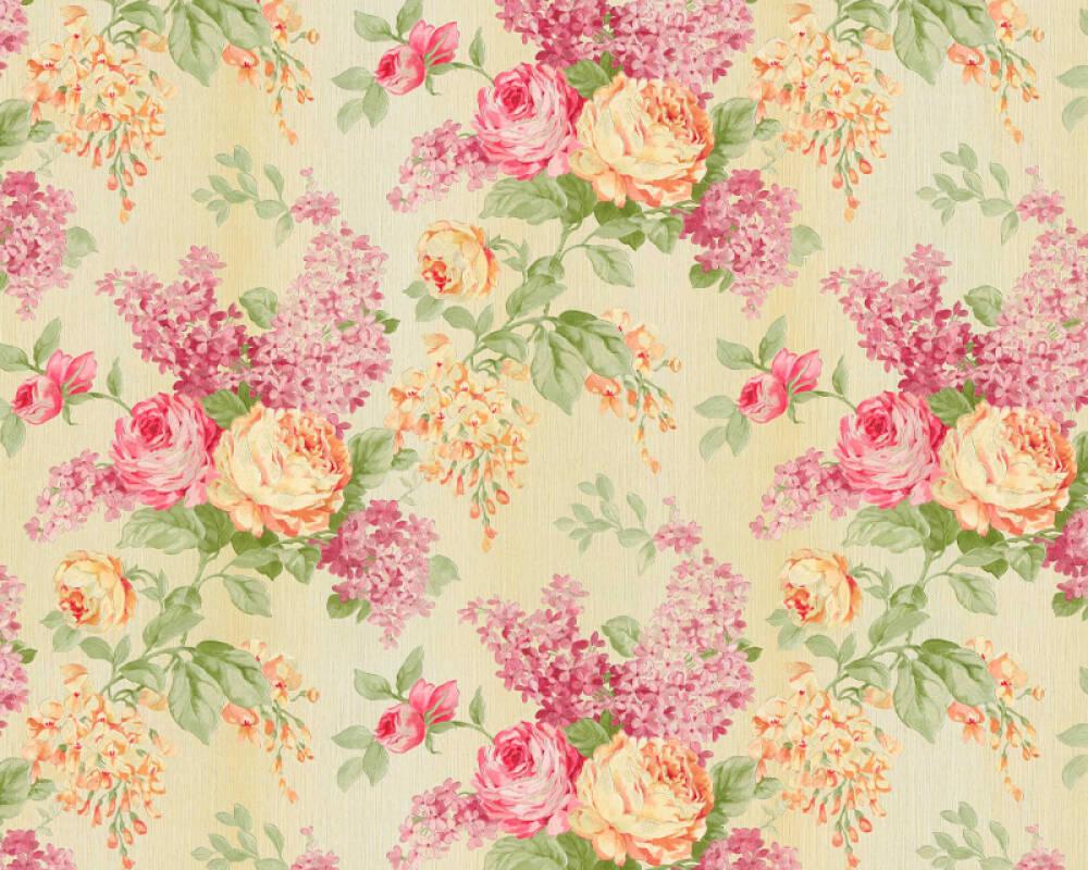 ORIGINALS Wallpaper Floral, Coloured, Copper, Cream, Gold 341482