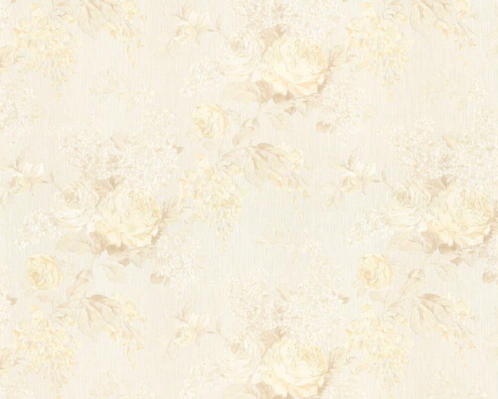 ORIGINALS Wallpaper Floral, Beige, Cream, Metallic 341484
