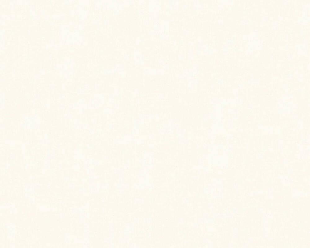 A.S. Création papier peint Uni, crème 342482