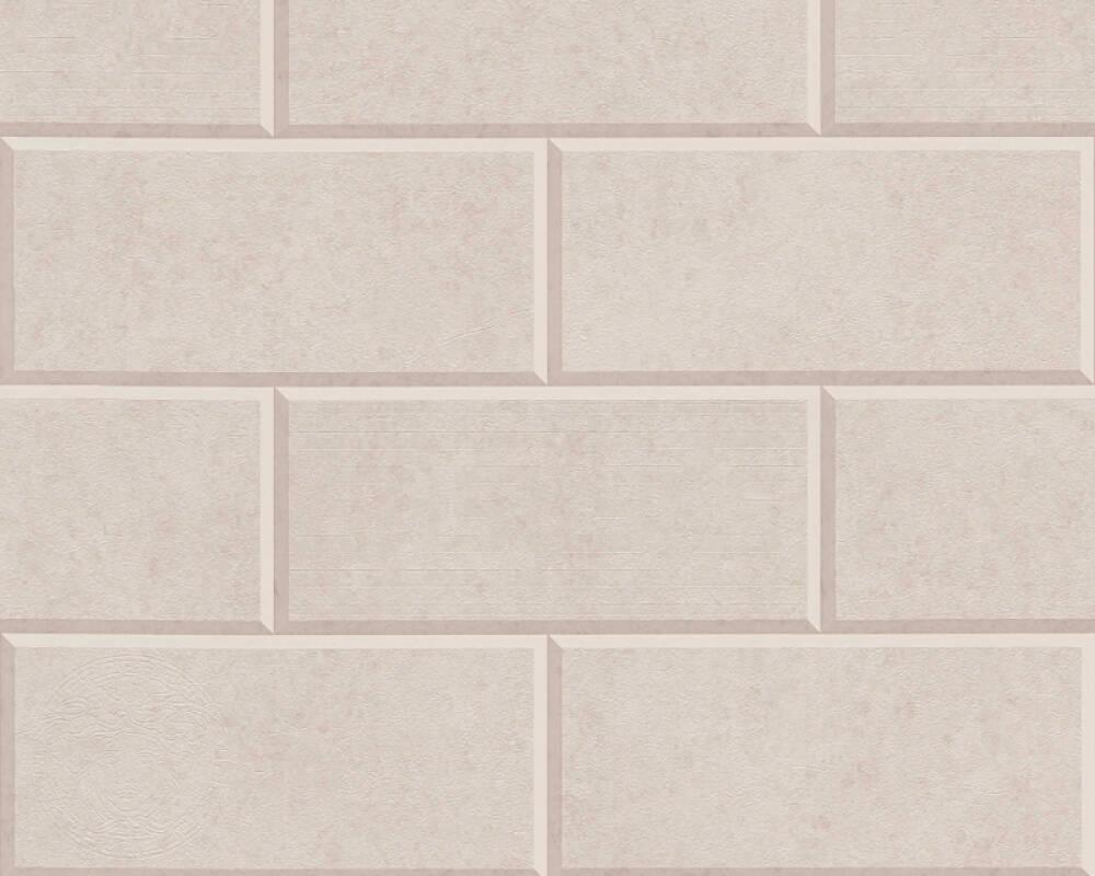 Versace Home Tapete Fliesen, Beige 343223