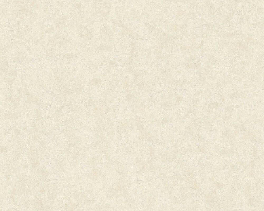 Architects Paper Wallpaper Uni, Cream, Grey, Metallic 343736