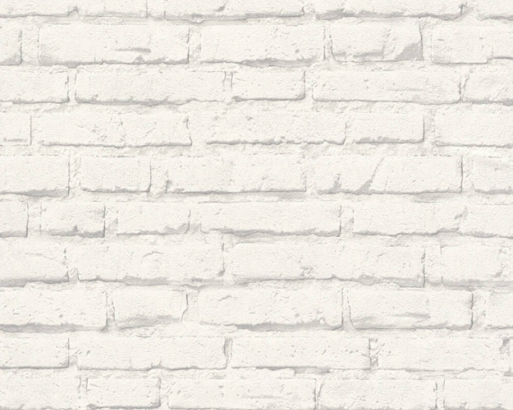 A.S. Création Wallpaper Stone, Grey, White 343992