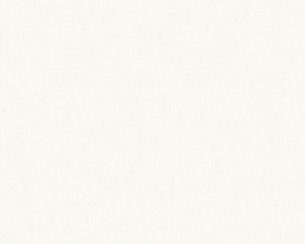 A.S. Création Wallpaper Uni, White 347213