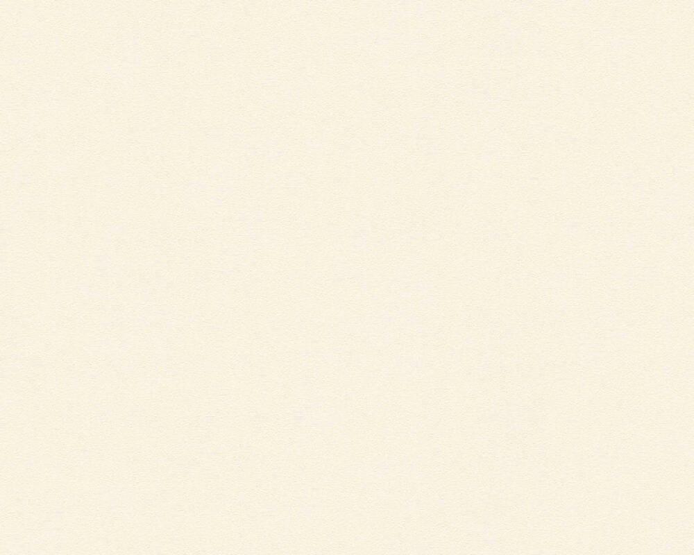 Architects Paper Wallpaper Uni, Cream, Metallic 347781