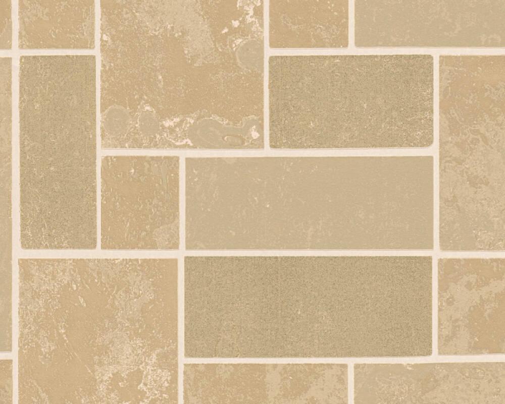 A.S. Création Wallpaper Tile, Beige, Bronze, Brown, Metallic 347791